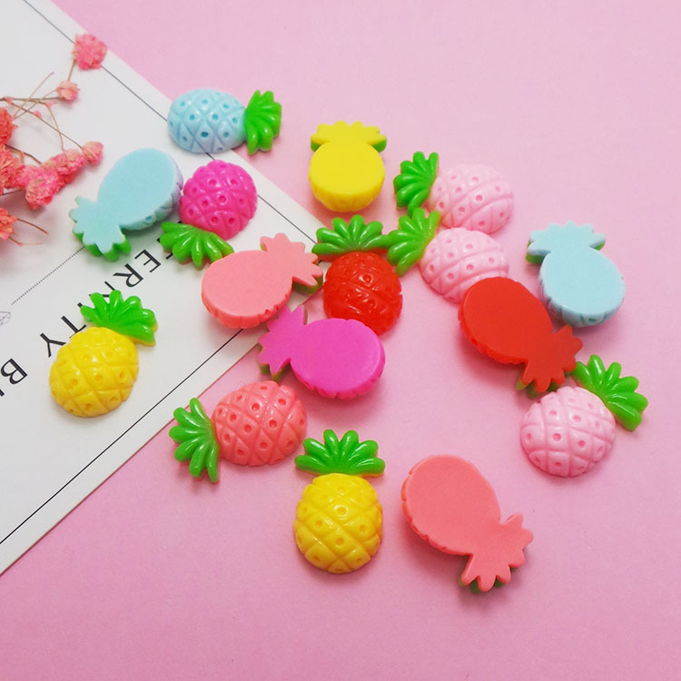 Addition Slime Charms For Slime Supplies Filler DIY Polymer Cute Pineapple Accessories Toy Lizun Model Tool For Kids Toys Gift E