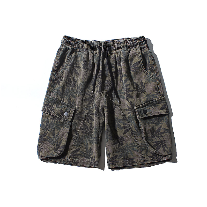 Summer Military Shorts Men Cargo Camouflage Pure Cotton Clothing Comfortable Slim Mens Tactical Bermuda Camo Streetwear EE5DK