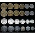 Набор из 6 монет Коста-Рики, Латинская Америка, Коллекция 100% настоящих оригинальных монет