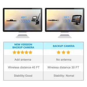 Image 5 - Accfly Wireless Car Dvr Rear View Camera Backup Parking Plate Cam with 4.3 Inch TFT Lcd Monitor for SUV