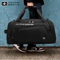 Schwyz Cross Saber Fashion Travel Bag Handbag Luggage Bag Short Trip Travel Bag Fitness weekend bag travel bag
