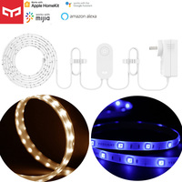 Yeelight-tira de luces RGB 1S, banda de luz inteligente de la UE, Lamb, aplicación de teléfono inteligente, Wifi, LED colorido, YLDD05YL para Homekit y Mihome