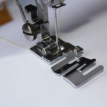 High Quality Sewing Machine Presser Foot Domestic 29306-2 Elastic Cord Band Fabric Stretch Footpresser Sewing Accessory image