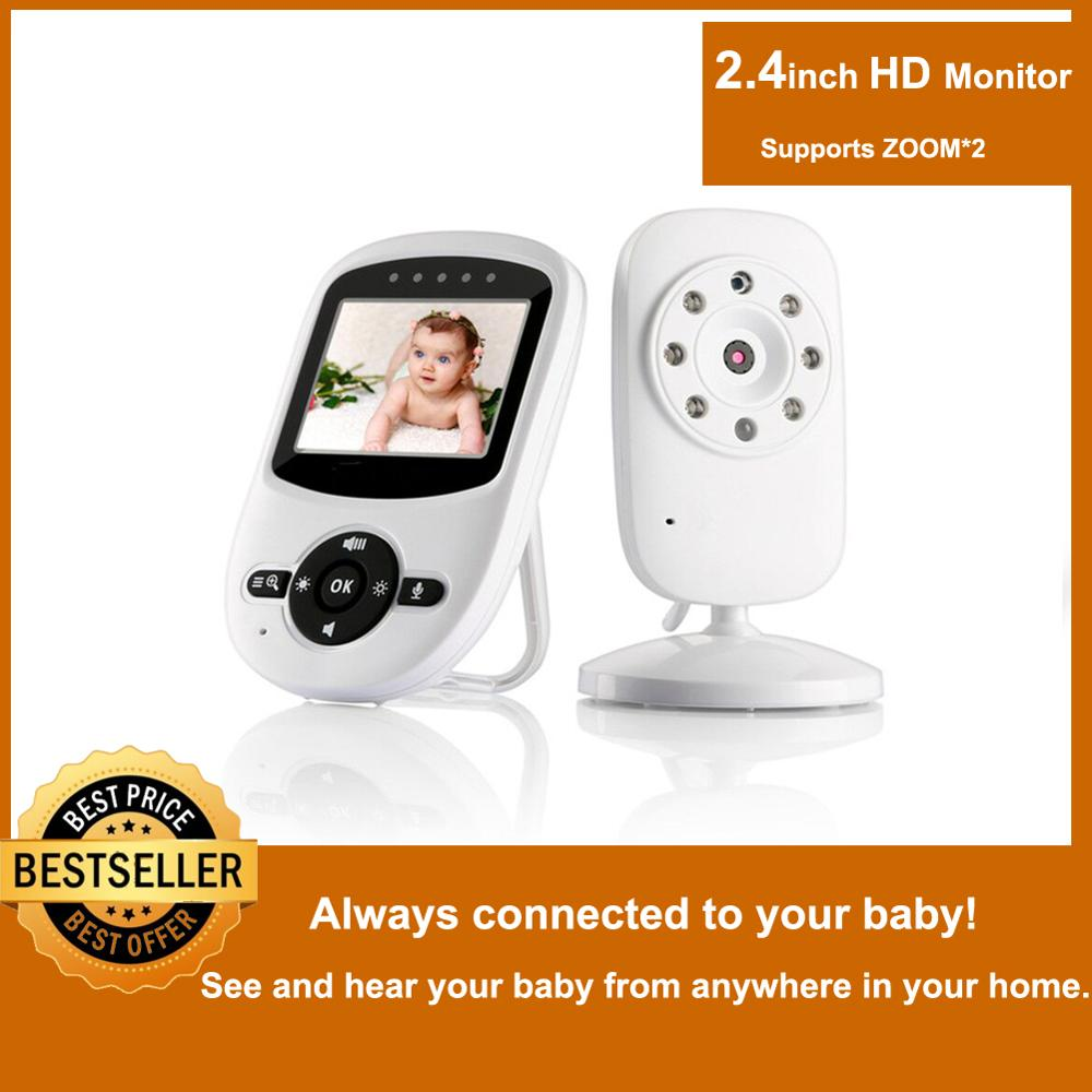 2019 Long Range Lullabies Video Baby Monitor With Infrared Night Vision Baby Walkie Talkie Baby Camera With Digital Baby Monitor