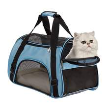 Puppy Dog Cat Kitty Kitten Portable Carry Bag Rabbit Pet Animal Carrier Tote Cage Crates Box Holder w/ Mat Breathable 5KG Load