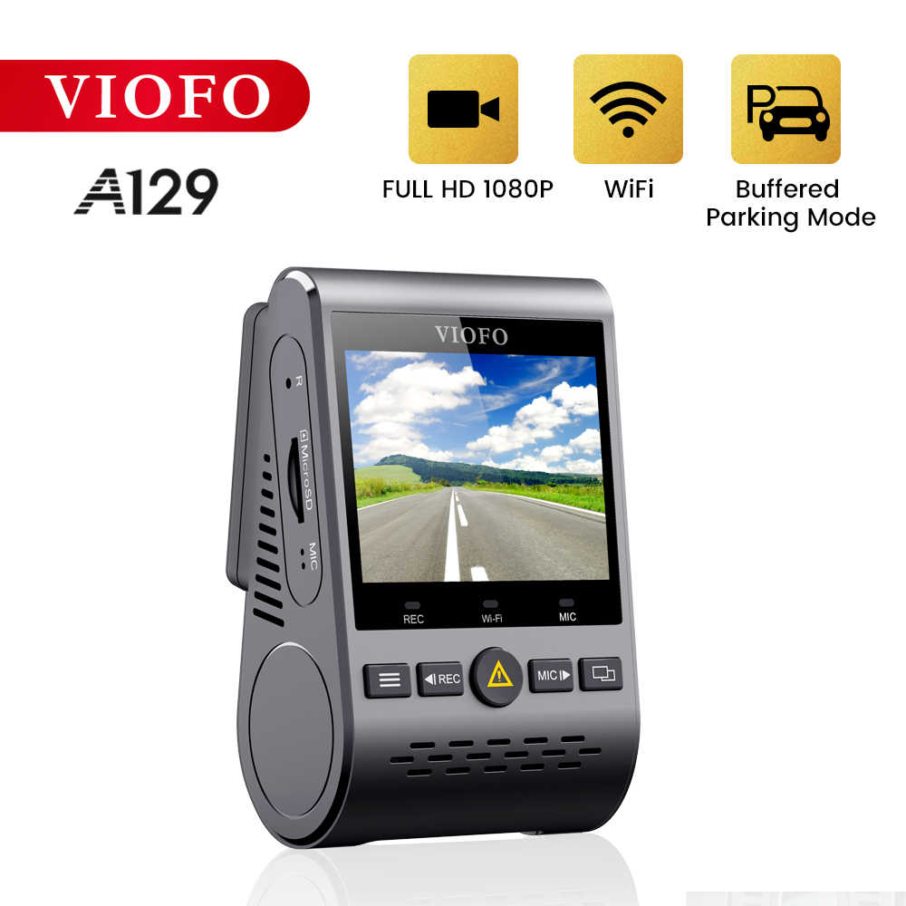 Viofo A129 Front Camera Band 5 Ghz Wifi Full Hd Auto Dash Camera Recorder 1080P 30fps IMX291 Starvis Sensor met Gps