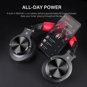 Image 2 - Oneodio A70 المهنية DJ سماعات المحمولة قابل للتعديل اللاسلكية/سماعة رأس سلكية Bluetooth5.0 سماعة لتسجيل رصد