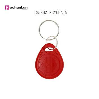 5 Pcs/lot  125KHZ Proximity Token Access Duplicate RFID Tag Key Ring Card EM4305 Copy Rewritable Writable Rewrite ID keyfobs free shipping 10pcs 125khz rfid proximity id token tag key keyfobs keychain chain plastic for access system green color
