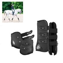 Нога лошади защитит ботинок мягкий эластичный ремень нога лошади предохранение Практичный Прочный верховой езды нога лошади предохраняет ботинок