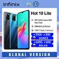 Infinix Heißer 10 Lite Globale Version 2 + 32GB Smartphone 6.6