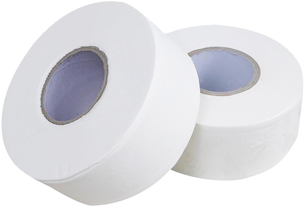 White Smooth Soft Toilet Paper, Home Kitchen Toilet Tissue Strong Hand Towels For Daily Use 2 Packs/Case