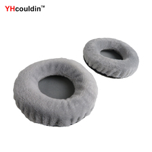 цена на YHcouldin Velvet Ear Pads For Philips SHP1900 SHM1900 Replacement Headphone Earpad Covers