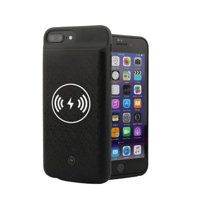 Hot Wireless Battery Charger Case For Iphone 6 6s 7 8 Power Bank Charging Case For Iphone 7 8 6 6S Wireless Battery Charger Case