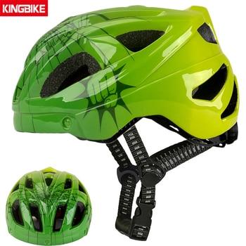Batfox novo capacete de segurança das crianças ciclismo patinação capacete ultraleve protetor capacete da bicicleta esportes ao ar livre engrenagem protetora 1