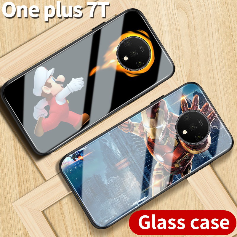 For oneplus 7t case Innovative personality 1+7t Oneplus 7t cover case custom made DIY case