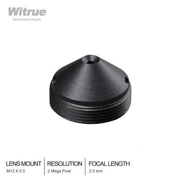 Witrue CCTV lens Pinhole Lenses 2.5MM  M12*0.5 Mount 1/3 F2.0 110 degree for Security cameras