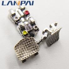 Lanpai – supports métalliques orthodontiques dentaires Standard, ROTH/MBT 0.022 345 crochet avec Tubes buccaux