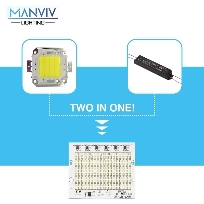 SMD LED Chip 10W 20W 30W 50W 100W 230V Lamp Chip No Need Driver DIY - Αξεσουάρ φωτισμού - Φωτογραφία 3