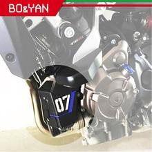 Dành Cho Xe Yamaha MT 07 MT07 FZ07 MT 07 FZ 07 2014 2015 2016 2017 2018 2019 Xe Máy Làm Mát Phục Hồi Xe Tăng Lá Chắn Bảo Vệ bao Da