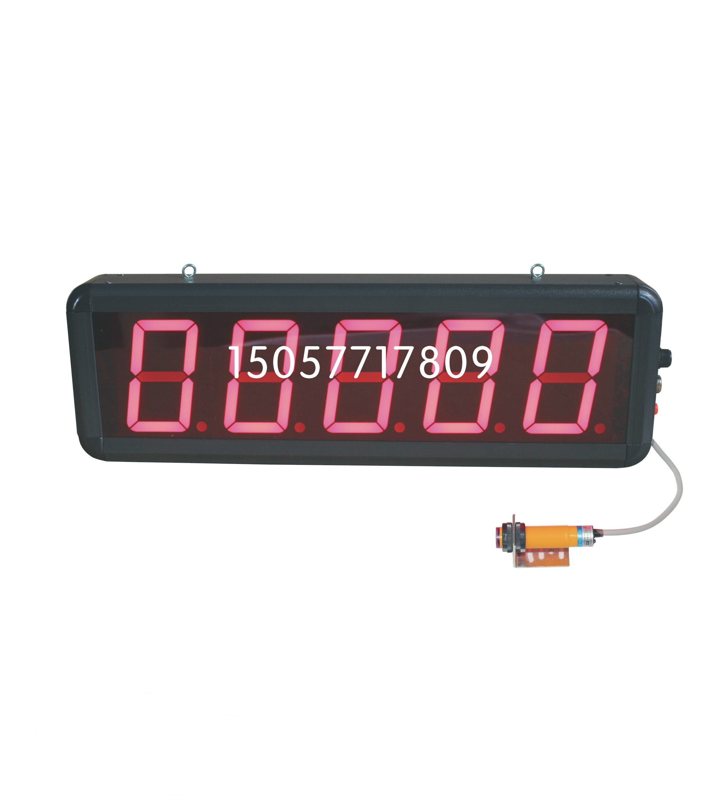 Large Screen LED Digital Display Infrared Induction Automatic Counter