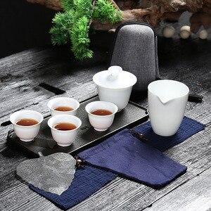 Ceramic gaiwan tea cup for chi