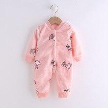 Children Romper Warm-Clothing Spring Long-Sleeved Newborn Autumn Baby-Boys-Girls Kids