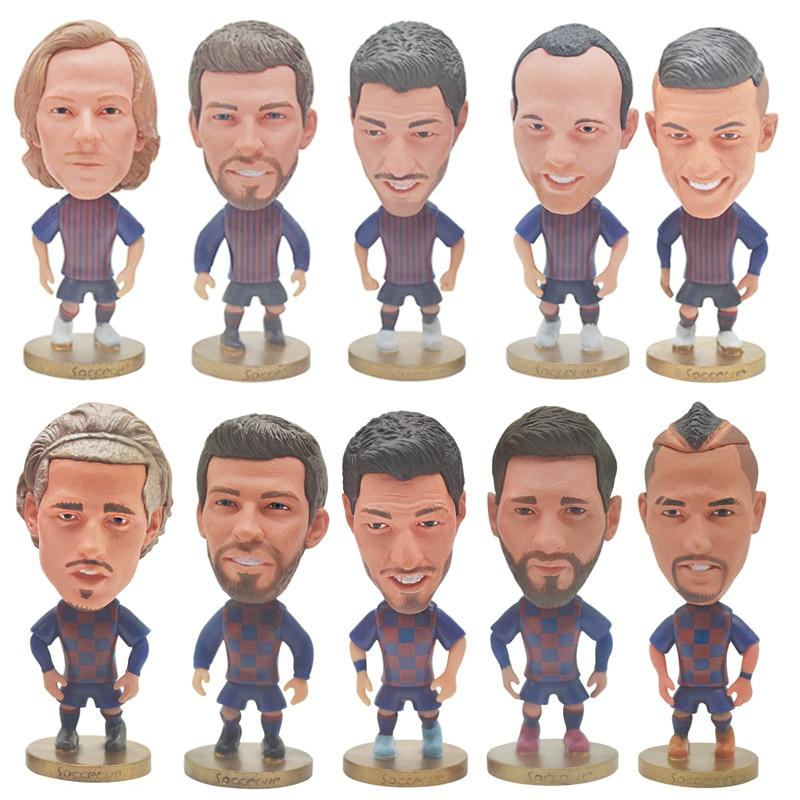 Soccer Star Player Figures Mini Toys 2019-2020 PVC Dolls Fans Souvenir