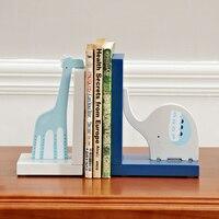 Nordic London Book Stand Creative Book Holder Desk Organizer Bookshelf Decoration Ornaments Bookends