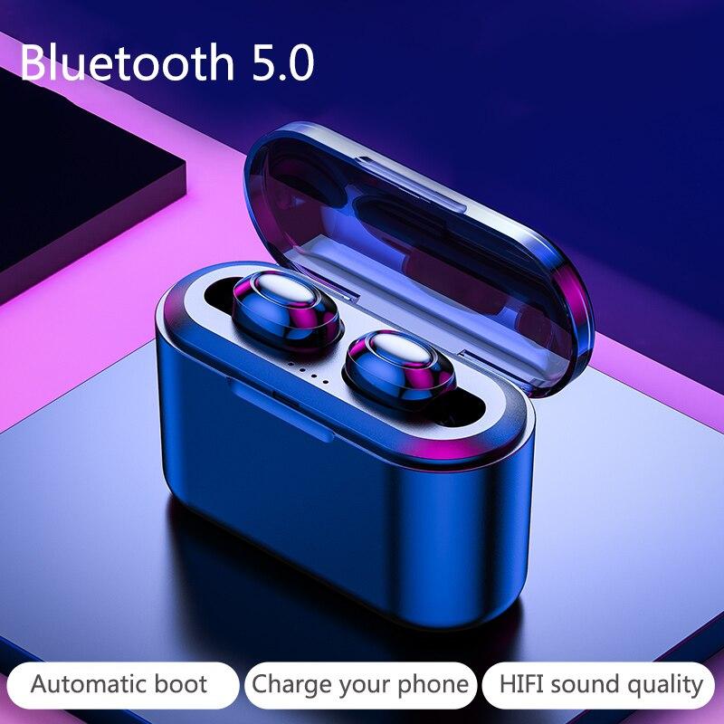 Wireless Bluetooth Earphone HIFI Sound Sports Wireless Headphones Running Mini Long Standby For Xiaomi Earbuds V5.0 Headphone