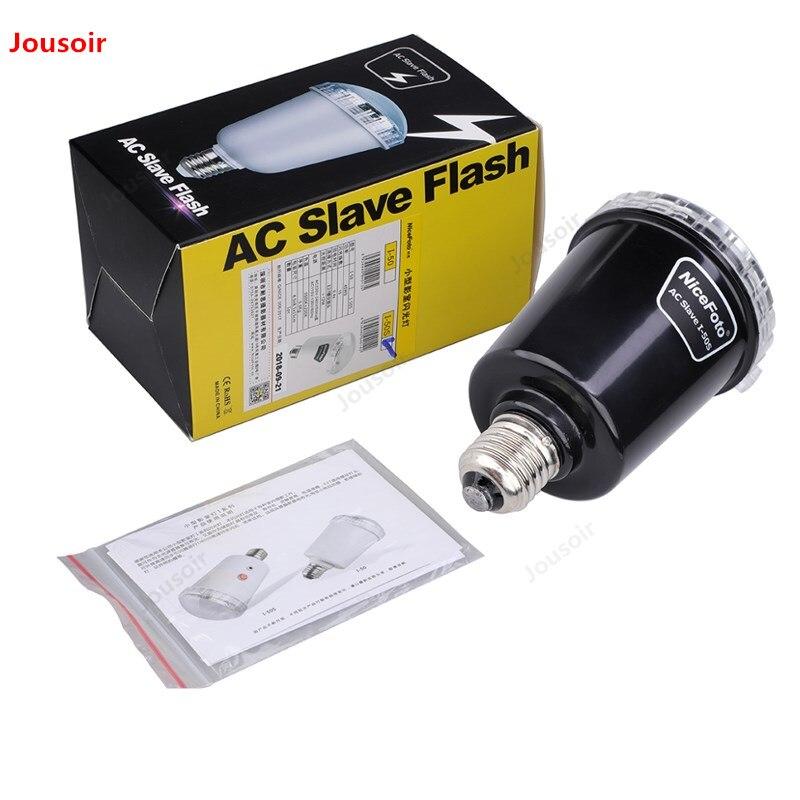 flash de fotograf/ía L/ámpara de flash E27 codiarts flash de estudio 45 W flash de caja de fotos como esclavo y flash de sincronizaci/ón.
