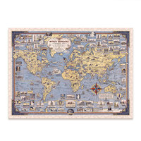 712Pcs World Map Series Wooden Irregular Jigsaw Puzzle Intellectual Educational Game For Children Educational Toys   World Map