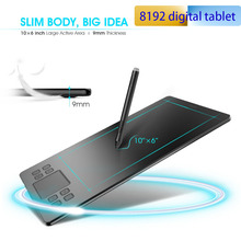 Tablet-Pad Graphic Drawing Pro-Designer Writing-Painting 8192 VEIKK Smart for 10x6inch