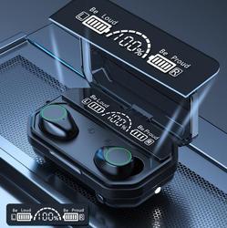 A16 TWS Bluetooth Headset Tled Display Atmen Licht Touch Taschenlampe Ohrhörer vs f9 b10 b11 sm-r175 für smart telefon universal