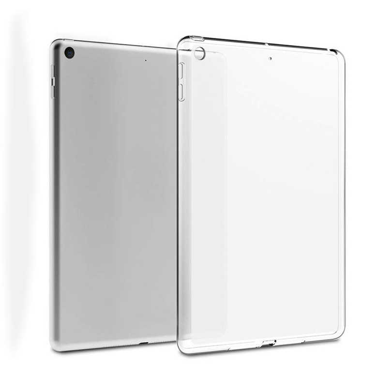 Clear Case Voor Ipad 10.2 2019 Tpu Transparant Siliconen Shockproof Cover Voor Apple Nieuwe Ipad 7th Generatie Back Case 10.2 inch A40
