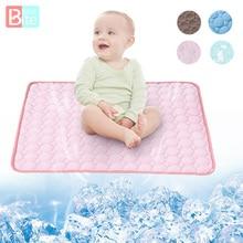 Mattress Baby Summer 100x70cm Machine Bedding-Set Mesh Washable-Bed Ice Soft Cotton