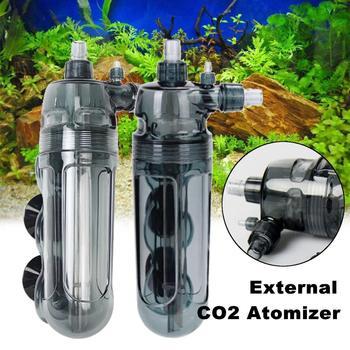 Akwarium Fish Tank zewnętrzny CO2 rozpylacz dyfuzor Fish Tank Atomizer wody trawa roślin wodnych dwutlenku węgla dostaw sprzętu tanie i dobre opinie Meigar External Aquarium Diffuser