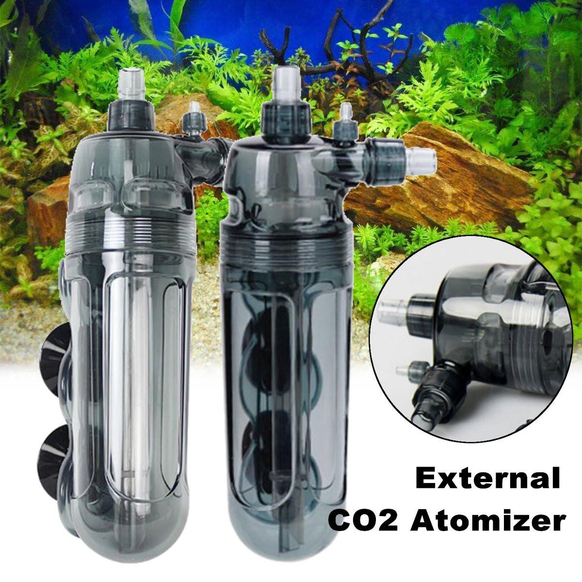 Aquarium Fish Tank External CO2 Atomizer Diffuser Fish Tank Atomizer Water Grass Plant Aquatic Carbon Dioxide Equipment Supply
