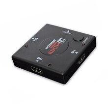 HDMI ספליטר מתאם כבל 1.4b 1080P Switcher HDMI מתג 3 ב 1 מתוך נמל Hub עבור Xbox PS3 PS4 HDTV