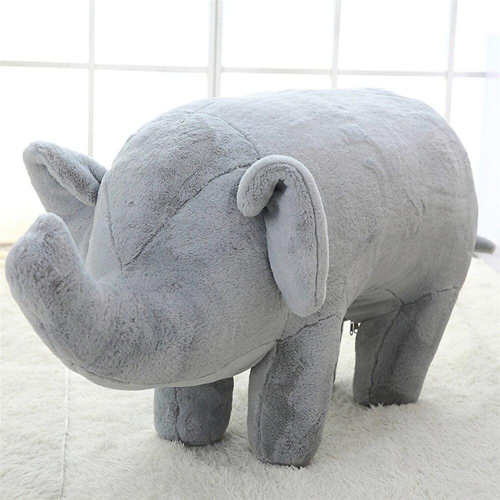 lifelike pelucia recheado porco brinquedo elefante porco 05