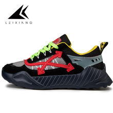 2019 running shoes for men breathable mesh Leixiang man sports