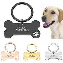Id-Tag Pet-Accessories Engraved Pet-Id-Name Personalized-Collar Puppy for Cat Pendant