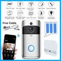 Wifi дверной Звонок камера Смарт Wi-Fi видеодомофон дверной звонок видео Звонок для квартиры ИК сигнализация беспроводной цветной объектив кам...