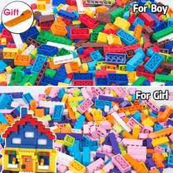 Building Blocks DIY Bulk Sets City Creative Small Size Classic Technic Bricks Creator Kids Toys For Children Christmas Gift