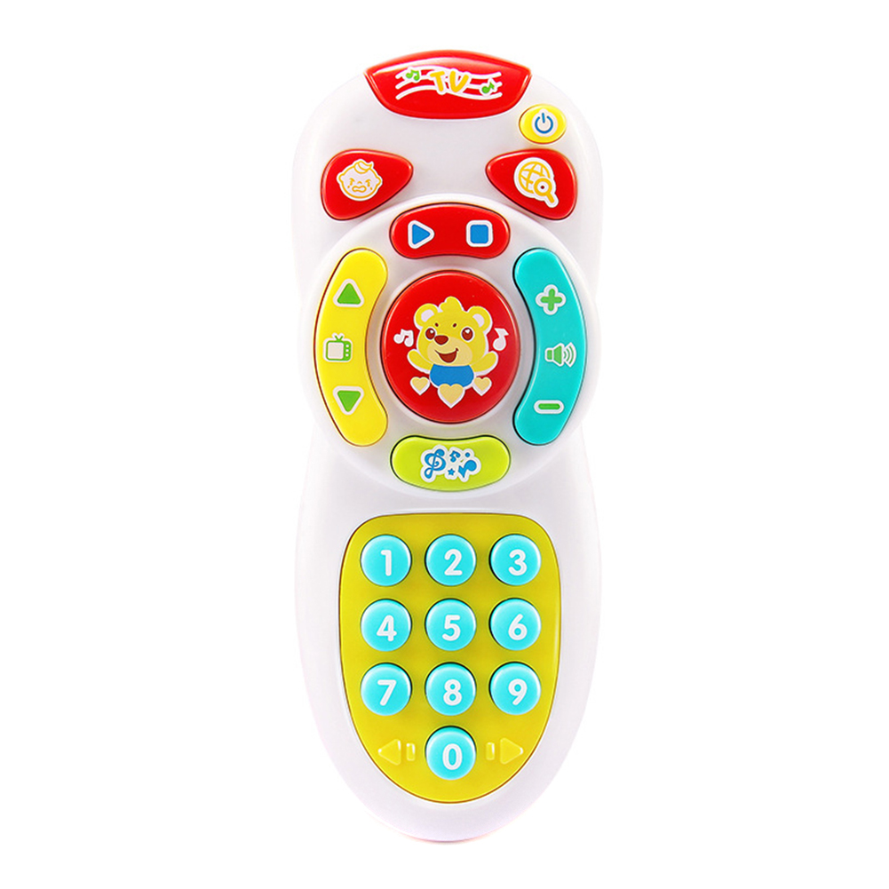 Baby Simulation TV Remote Control Mobile Phone Toy Kids Educational Music Learning Vocal Toy M09