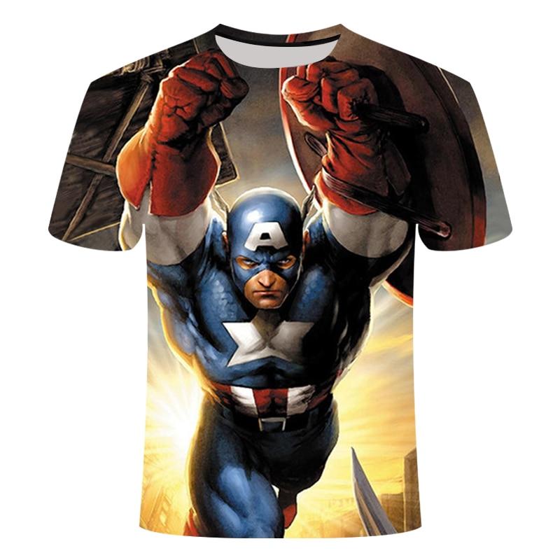Newest Marvel Superhero Clothing Superman T-Shirt Men Women Cartoon 3D T Shirt Funny T Shirts Compression Shirt