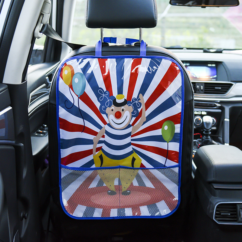 Children's Rear Seat Back Car Anti- Pad Seat Back Baby Seat Back Protection Pad Car Universal