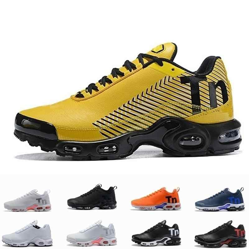 Original Top Air Quecksilber Plus Tn Ultra SE Schwarz Weiß Orange braun Outdoor Schuhe outdoor TN schuhe Mens Trainer Sport sneaker