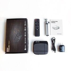 Image 5 - Caiwei H6AB フル hd ミニ dlp プロジェクタースマート bluethood 4.0 アンドロイド 7.1.2 os protable のビデオ led ホームシネマ 4 18k ビーマー wifi 5 グラム