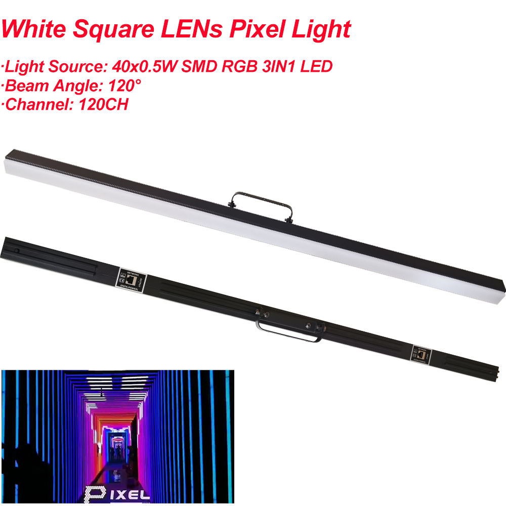25W LED Light Bar RGB LED Pixel Tube Wall Washer Dmx Bar Light  Individual Control Pixel Stage Effect Light DJ Party Bar Lights