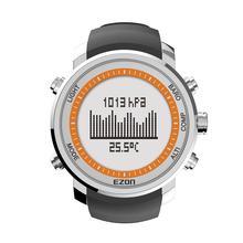 Digitale Outdoor Sport Horloge Mannen Horloge Uur Hoogtemeter Barometer Thermometer voor Wandelen 50 meter waterdicht